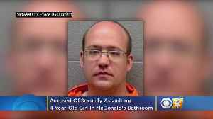 Oklahoma Man Accused Of Sexually Assaulting 4-Year-Old In McDonald's Bathroom [Video]