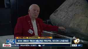 San Diego technology helped Apollo 11 launch and land [Video]