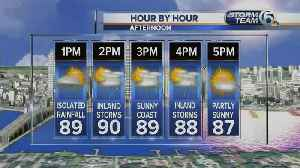 South Florida Friday afternoon forecast (7/19/19) [Video]