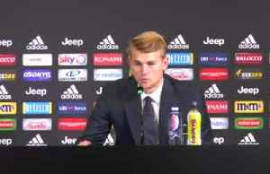 Juve's De Ligt says he is young but willing to learn from new team-mates [Video]