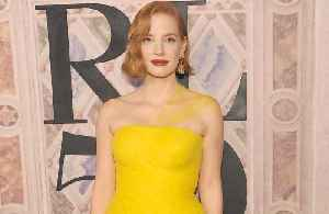 Jessica Chastain breaks fake blood 'world record' [Video]