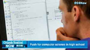 Florida continues computer science push for high school students [Video]