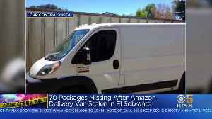 Search On For Amazon Packages Stolen From Delivery Van In El Sobrante [Video]