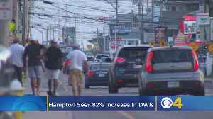 Hampton, NH Sees 82% Increase In DWIs; Police To Ramp Up Enforcement [Video]