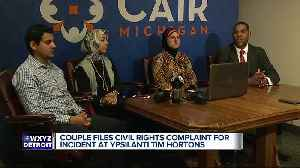 Couple files civil rights complaint for incident at Ypsilanti Tim Hortons [Video]