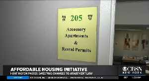 Huntington Passes Sweeping Changes To Apartment Law [Video]