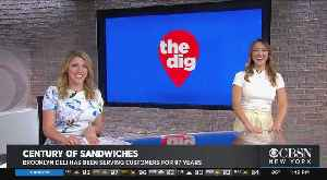 Elle Shares Defont's Sandwich Shop On CBS2's The Dig [Video]