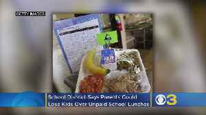 School District Warns Parents They Could Lose Kids Over Unpaid School Lunches [Video]