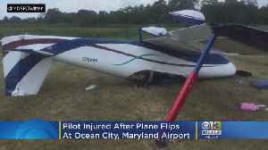 Person Injured In 'Mishap' At Ocean City, Maryland Airport [Video]
