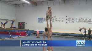 Local National Champion Gymnasts To Compete In Mexico [Video]