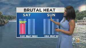 Philadelphia Weather: Feeling Like 115 Degrees At Times This Weekend [Video]