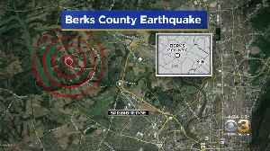 USGS Geophysicist Paul Caruso Updates Berks County Earthquake [Video]
