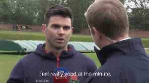James Anderson hoping to prove Ashes fitness in Ireland Test [Video]