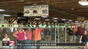 World Series of Bocce kicks off in Rome [Video]