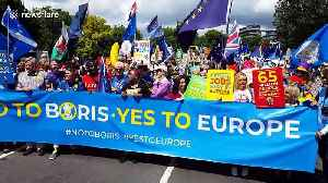 'No to Boris, Yes to Europe' pro-EU protest held in London [Video]