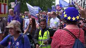 March For Change: Thousands take part in pro-EU march [Video]