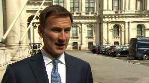 Jeremy Hunt: Iran sees seizing of tanker as 'tit for tat' [Video]
