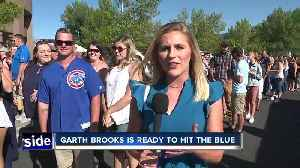 Garth Brooks is ready to hit the blue [Video]