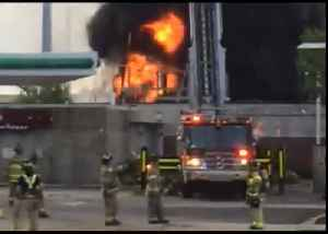 Firefighters Respond to Blaze Near Wisconsin State Capitol [Video]