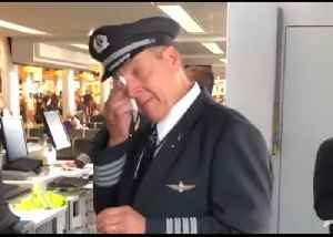'Sound On, Tissues Out': Wisconsin Choir Serenades Tearful Pilot After Retirement Flight [Video]