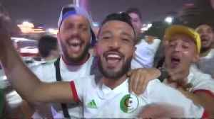 Algerians celebrate wildly after Africa Cup of Nations victory [Video]