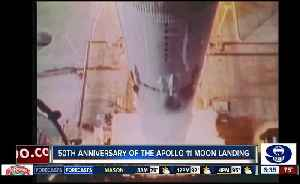 50th anniversary of the Apollo 11 moon landing [Video]