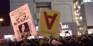 Anti-Abe Protesters Clash With Police as Prime Minister Holds Final Election Rally [Video]