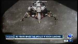 Saturday marks 50th anniversary of Apollo 11 moon landing [Video]