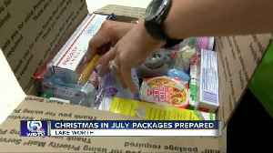 Christmas in July packages for soldiers prepared in Lake Worth [Video]