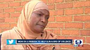 Mom on a mission to help survivors of violence [Video]
