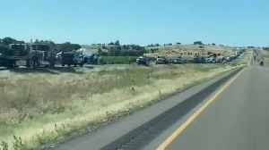 Severe crash on I-84 west of Caldwell [Video]