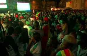 Senegal fans in tears after defeat against Algeria in Africa Cup of Nations final [Video]