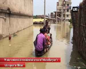 Flood situation worsens in Bihar water enters residential areas [Video]