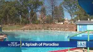 Paradise Public Pool Re-Opens with a Splash [Video]