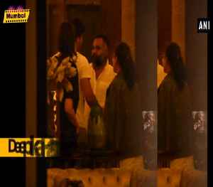 Deepika Padukone, Ranbir Kapoor spotted outside Luv Ranjan residence [Video]