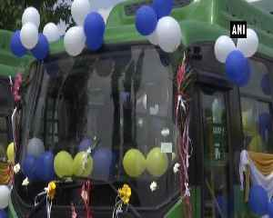News video: Governor Satya Pal Malik flags off electric buses in Srinagar