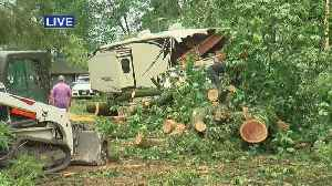 Western Wis. Battered By Storm [Video]