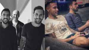 This Is The Truth Behind The Mysterious Man Who Keeps Posing With Messi And Ronaldo [Video]