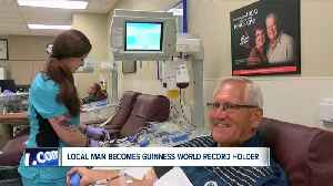 Local man becomes Guinness World Record holder [Video]