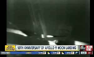 Apollo 11 at 50: Celebrating first steps on another world [Video]