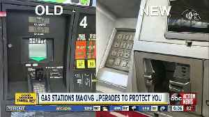 Gas stations make upgrades to protect you from gas skimmers [Video]
