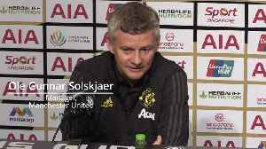 Ole Gunnar Solskjaer compares Mason Greenwood to Ryan Giggs [Video]