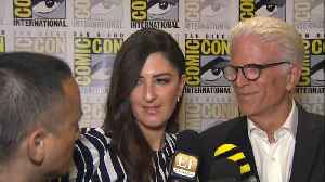 D'Arcy Carden, Ted Danson Get Emotional About 'Good Place' [Video]