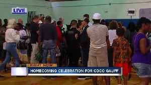 Homecoming celebration for Coco Gauff held in Delray Beach [Video]