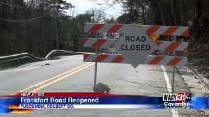 Frankfor Road Reopen [Video]