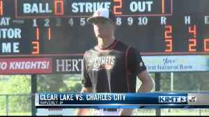 Charles City downs Clear Lake; advances in 3A baseball districts [Video]