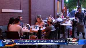 Celebrations bring boom to businesses [Video]