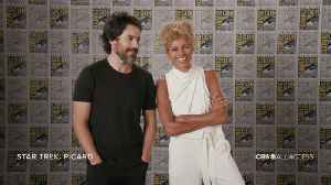 SDCC 2019: Star Trek: Picard Actors Describe The Thrill Of Working With Sir Patrick Stewart [Video]