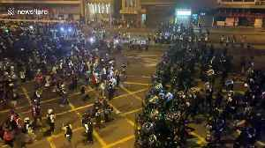 Tear gas fired at Hong Kong pro-democracy protesters [Video]