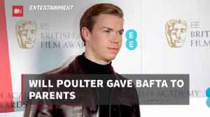 Will Poulter And His BAFTA [Video]